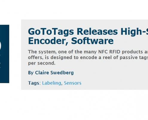 rfid journal high speed nfc encoder gototags